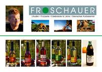 Ansichtskarten Werbung Froschauer