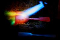 Besteckrohlinge werden erhitzt-170222-7509